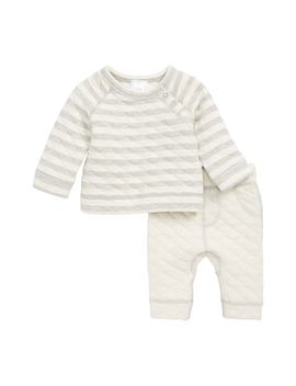 Quilted Top & Pants Set by Nordstrom Baby
