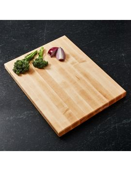 "John Boos 20""X15"" Maple Cutting Board by Crate&Barrel"