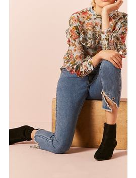 Ankle Jeans Con Ojales by F21 Contemporary