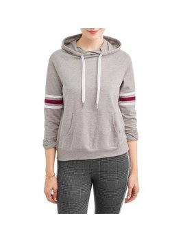 Women's Raglan Athletic Stripe Sweatshirt by Carly St. Claire