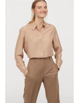 Skjorta I Siden by H&M