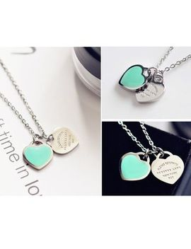 Moment Of Love   Heart Necklace by Moment Of Love