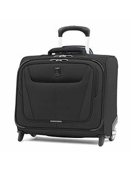 "Travelpro Luggage Maxlite 5 16"" Lightweight Carry On Rolling Tote Suitcase, Black by Travelpro"