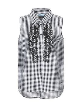 Blumarine Beachwear Checked Shirt   Shirts by Blumarine Beachwear