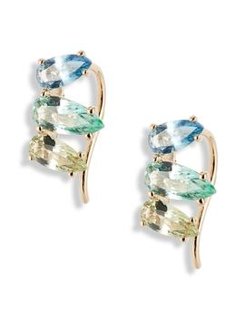 Gelato Small Cubic Zirconia Ear Crawlers by Nadri