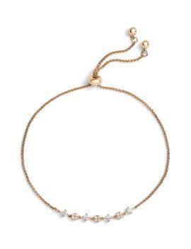 Pavé Disc & Stone Slider Bracelet by Nordstrom