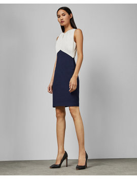 Fitted Sleeveless Dress by Ted Baker