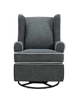 Eddie Bauer® Upholstered Wingback Swivel Glider by Shop Collections