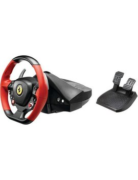 Ferrari 458 Spider Racing Wheel For Xbox One   Black/Red/Yellow by Thrustmaster