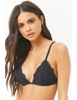 Bralette Ribetes Festoneados by F21 Contemporary