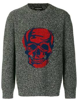 Skull Motif Jumper by Alexander Mc Queen