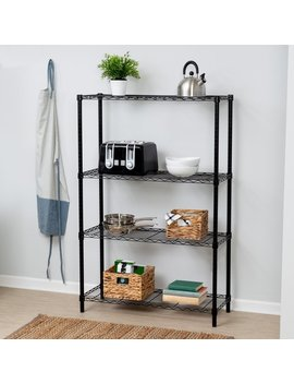 "Wayfair Basics™ Wayfair Basics 54""H X 36""W 4 Shelf Shelving Unit & Reviews by Wayfair Basics™"