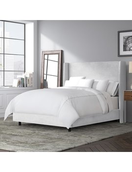 Brayden Studio Goodrich Upholstered Panel Bed & Reviews by Brayden Studio