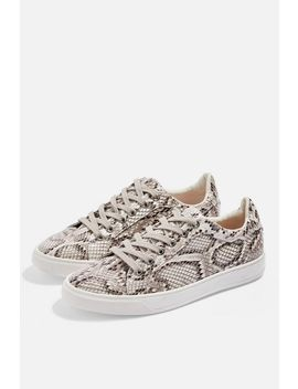 Cola Lace Up Trainers by Topshop