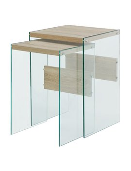 Convenience Concepts So Ho Nesting End Tables by Convenience Concepts