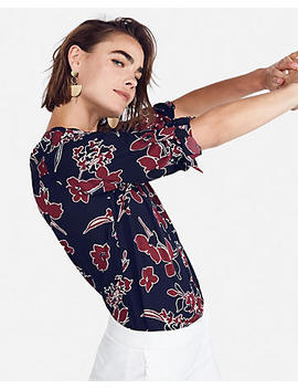 Petite Large Floral Chelsea Popover by Express