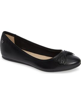 Heather Bow Ballet Flat by Hush Puppies®