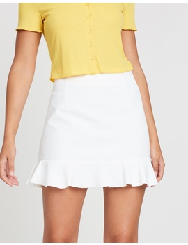Dream Girl Ruffle Skirt by Dazie