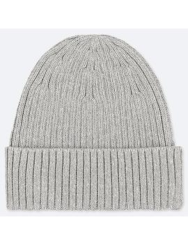 Rib Beanie Hat by Uniqlo