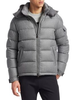 Montgenevre Hooded Jacket by Moncler