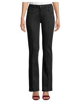 Le Mini Boot Cut Pintuck Ankle Jeans by Frame