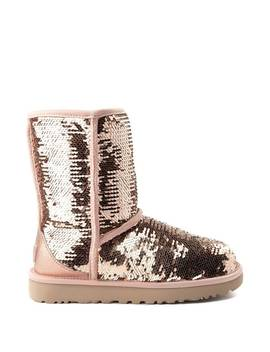 Womens Ugg Classic Short Ii Sequin Boot by Ugg