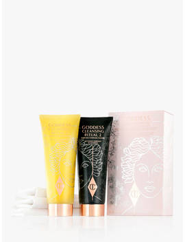 Charlotte Tilbury Goddess Cleansing Ritual Miracle Spa In A Jar Duo by Charlotte Tilbury