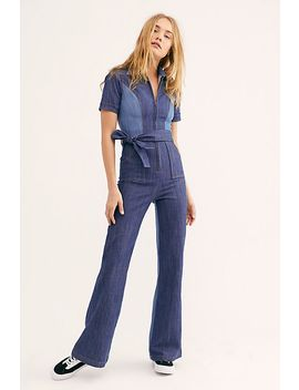 Blue Jean Baby Jumpsuit by Free People
