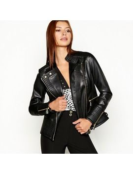 Star By Julien Macdonald   Black Biker Jacket by Star By Julien Macdonald