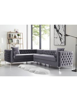 Everly Quinn Kaufman Reversible Sectional by Everly Quinn