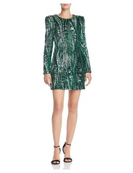 Sequined Mini Dress   100 Percents Exclusive by Happily Grey X Aqua