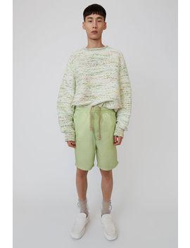 Nylon Shorts Blassgrün by Acne Studios