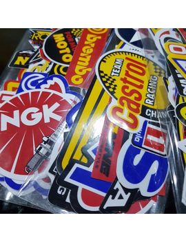 50 Pcs Lot Racing Stickers Decals Motocross Motorcycles Car Vintage Decal Sticker by Ebay Seller