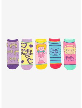 Polly Pocket No Show Socks 5 Pair by Hot Topic