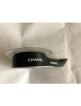 "Chanel Ribbon 3/4"" Black Satin Authentic Chanel Ribbon by Etsy"
