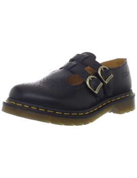 Dr Martens Women's 8065 Mary Jane Buckle Leather Shoe Black by Dr. Martens
