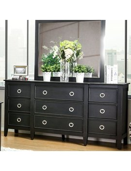 Red Barrel Studio Newstead 9 Drawer Double Dresser & Reviews by Red Barrel Studio