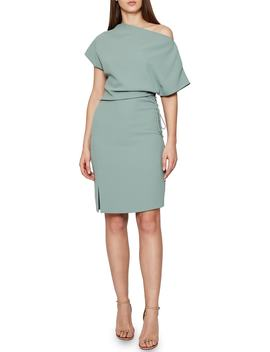 Marci Side Tie Dress by Reiss