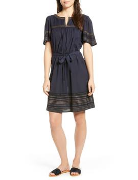Metallic Embroidered Dress by Velvet By Graham & Spencer