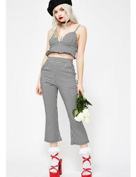 Paris Vacation Gingham Set by French Kiss