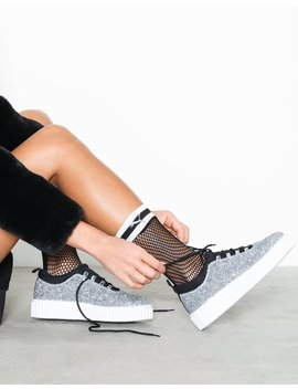 Lace Up Creeper Sole by River Island