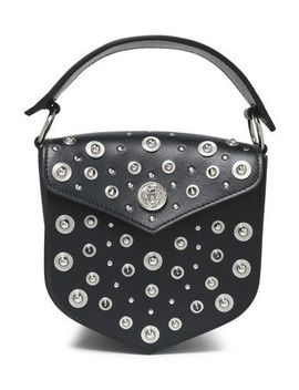 Studded Leather Shoulder Bag by Versus Versace