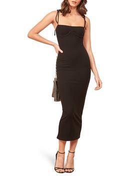 Swan Knit Midi Dress by Reformation