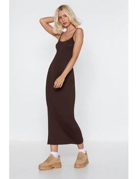 To Maxi Cami Dress by Nasty Gal