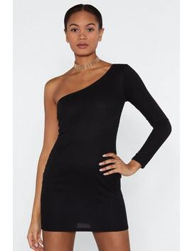 All For One Shoulder Dress by Nasty Gal