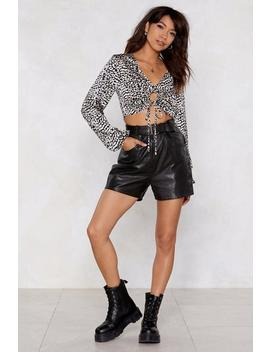 Claw And Order Leopard Top by Nasty Gal