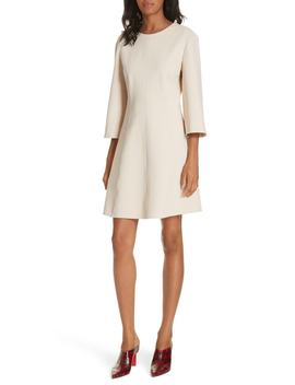 Bond Stretch Knit Wrap Back Dress by Tibi
