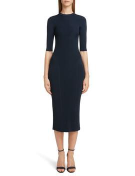 Rib Knit Dress by Victoria Beckham