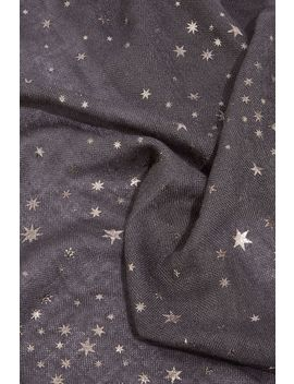 Star Foil Midweight Scarf by Oasis