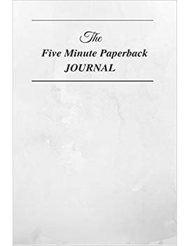 The Five Minute Paperback Journal by Amazon